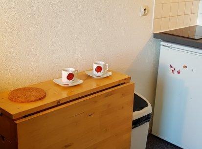 espace cuisine 2 personnes studio Prapoutel