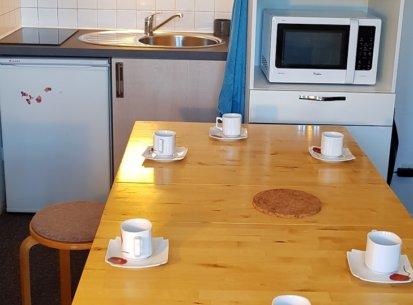 espace cuisine 6 personnes studio Prapoutel