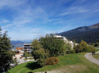 vue balcon appartement Prapoutel